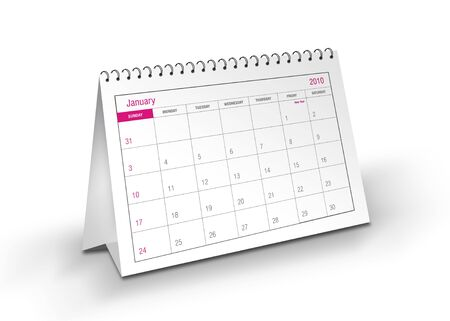 2010 January Calendar