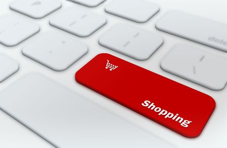 Online shopping concept  photo