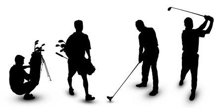 Golf Theme  Stock Photo