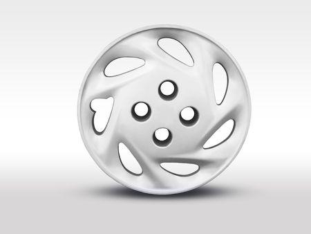 an alloy: Alloy wheel_2 Stock Photo