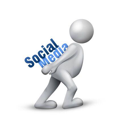 Social Media Network Stock Photo - 7606341