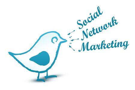 Social Media Marketing Stock Photo - 10046234