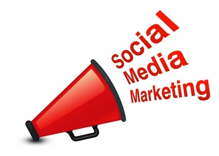 Social Marketing Stock Photo - 10446507