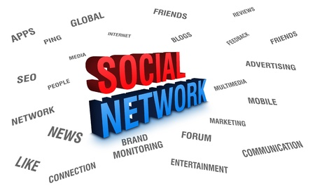 Social Network Stock Photo - 10446505
