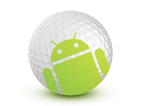 Google Android Mobile apps Store Stock Photo - 11025802