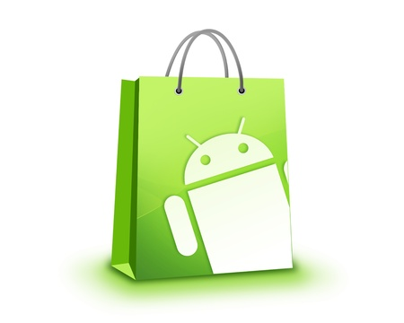 Google Android Mobile apps Store Stock Photo - 11025801