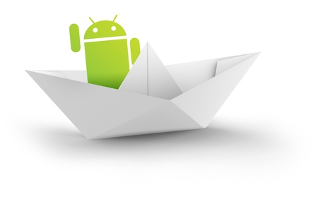 Google Android Mobile apps Store Stock Photo - 11025804