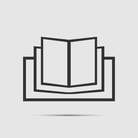 book icon Vector Illustratie