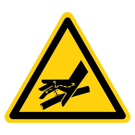 Skin Puncture Hydraulic Line Symbol Sign Isolate On White Background Çizim