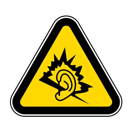 Noise Symbol Sign Isolate On White Background,Vector Illustration EPS.10