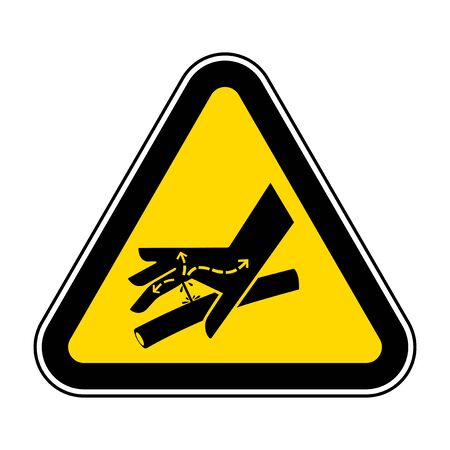Skin Puncture Hydraulic Line Symbol Sign, Vector Illustration, Isolate On White Background Label .EPS10