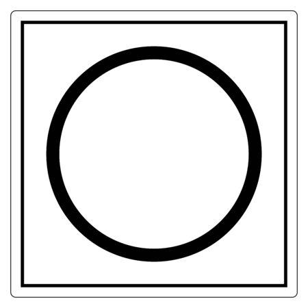 Off (Power) Symbol Sign Isolate On White Background,Vector Illustration EPS.10 向量圖像