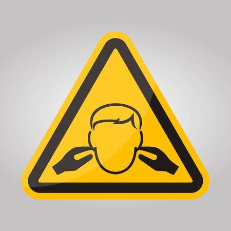 Noise Symbol Sign Isolate On White Background,Vector Illustration EPS.10 Stock Illustratie