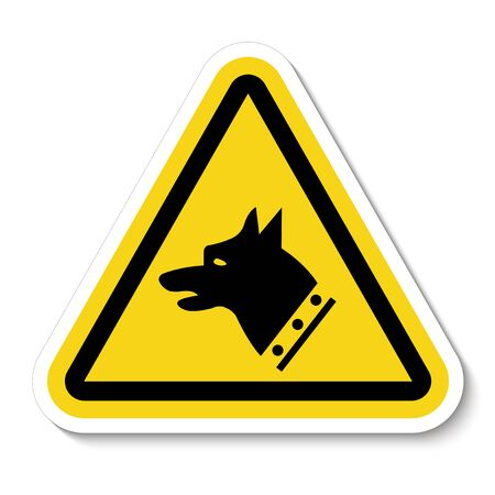 Gauge Dog Symbol Sign Isolate On White Background, Vector Illustration