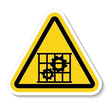 PPE Icon.Use Guards Protection Symbol Sign Isolate On White Background, Vector Illustration Ilustração