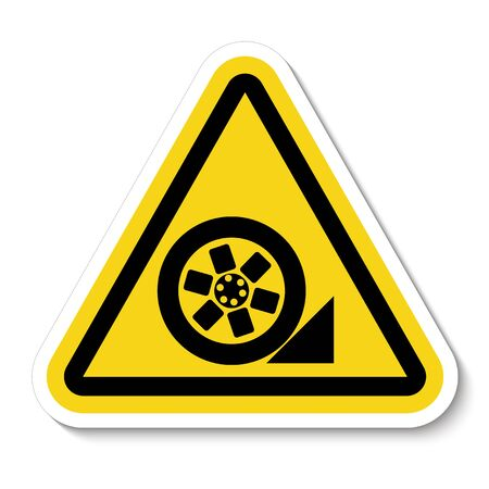 PPE Icon.Use Stopper Symbol Isolate On White Background,Vector Illustration