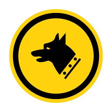 Gauge Dog Symbol Sign Isolate On White Background,Vector Illustration