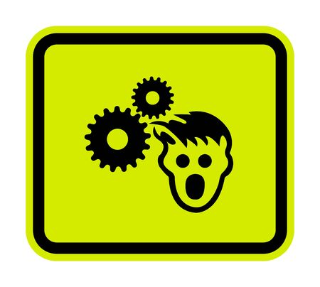 PPE Icon.Wear Hairnet Symbol Sign Isolate On White Background