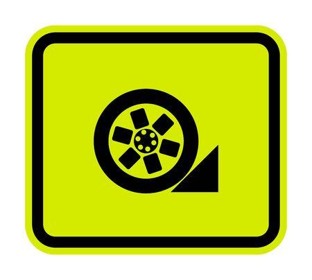 PPE Icon.Use Stopper Symbol Isolate On White Background,Vector Illustration EPS.10