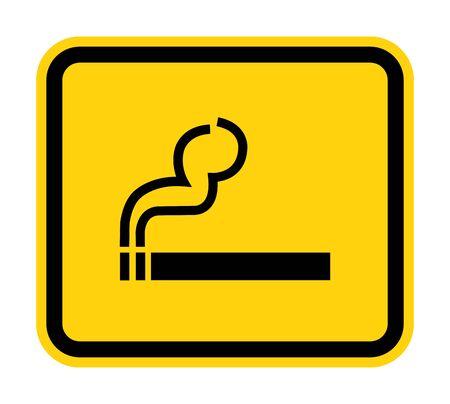 No Smoking Symbol Sign Isolate On White Background,Vector Illustration EPS.10