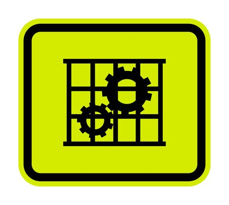 PPE Icon.Use Guards Protection Symbol Sign Isolate On White Background,Vector Illustration Vectores