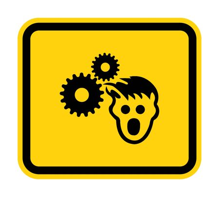 PPE Icon.Wear Hair Net Symbol Sign Isolate On White Background,Vector Illustration
