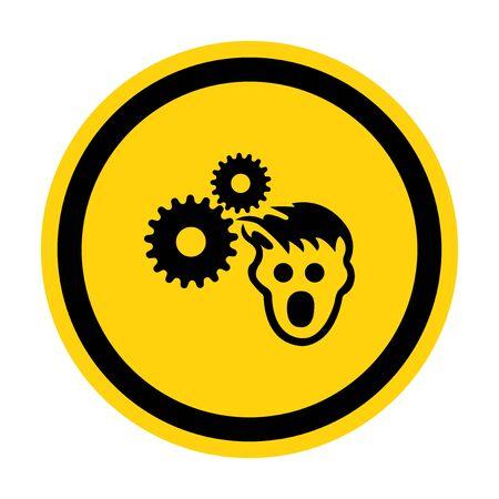 PPE Icon.Wear Hairnet Symbol Sign Isolate On White Background,Vector Illustration EPS.10
