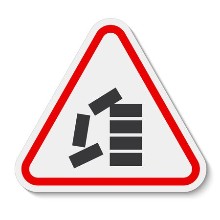 PPE Icon.Stack Correctly Symbol Sign Isolate On White Background, Vector Illustration