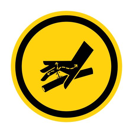 Skin Puncture Hydraulic Line Symbol Sign, Vector Illustration, Isolate On White Background Label