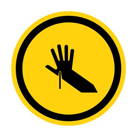 Sharp Point Symbol Sign, Vector Illustration, Isolate On White Background Label