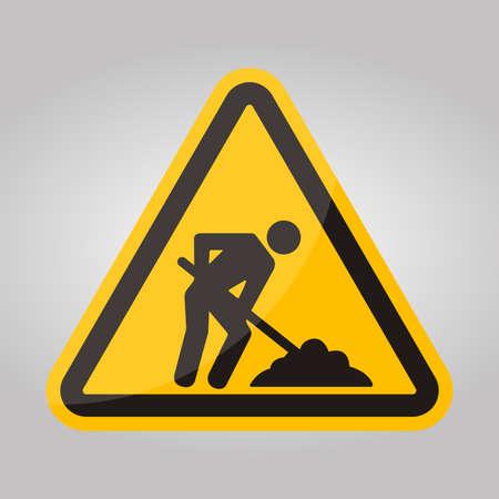 Use Footbridge Symbol Sign Isolate On White Background,Vector Illustration EPS.10