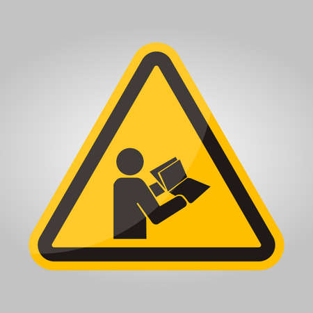 Read Technical Manual Before Servicing symbol Isolate On White Background,Vector Illustration