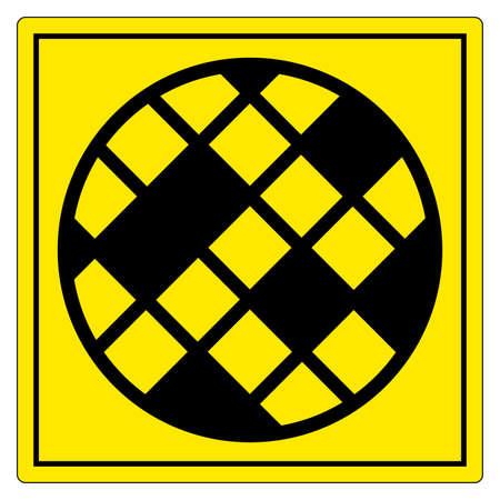 Filter Changing Symbol Sign Isolate On White Background,Vector Illustration EPS.10 Stock Illustratie