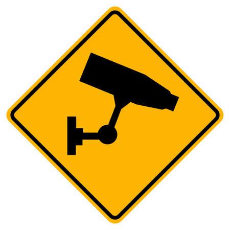 Warning This area has 24 hour video recording. Illusztráció