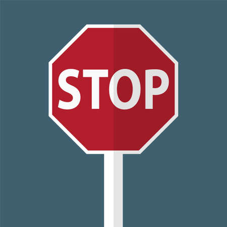 Traffic Road sign Stop warning