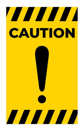 Warning sign Sign Isolate On White Background