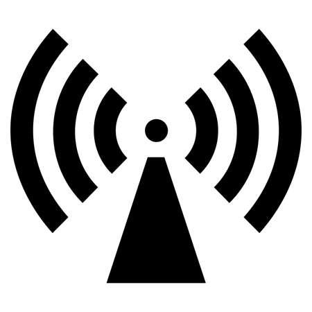 Beware Non-Ionizing Radiation Symbol sign