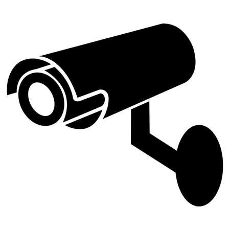 Video surveillance icon.CCTV camera. 向量圖像