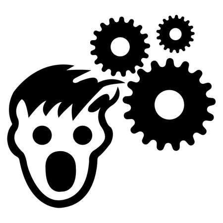 PPE Icon.Wear Hairnet Symbol Sign Isolate On White Background,Vector Illustration EPS.10 Vecteurs