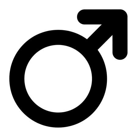No Male Symbol Sign Isolate On White Background,Vector Illustration 向量圖像