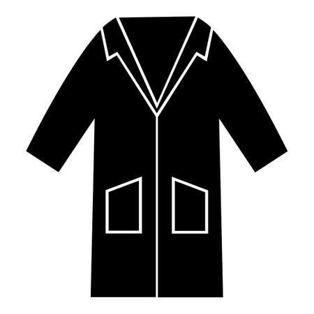 PPE Icon.Wear Smock Symbol Sign Isolate On White Background,Vector Illustration