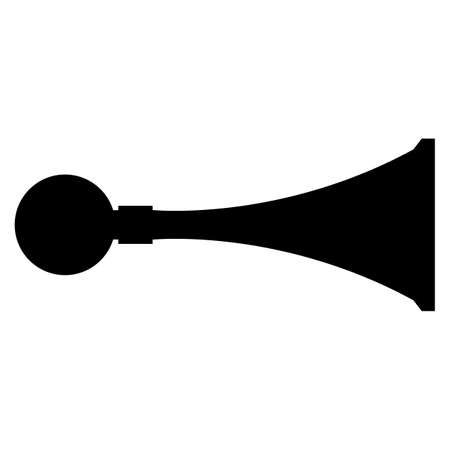 PPE Icon.Sound Horn Symbol Sign Isolate On White Background,Vector Illustration