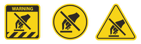 Do Not Touch Symbol