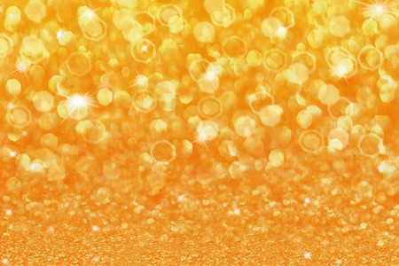 shiny gold: Gold shiny background for christmas decorations Stock Photo