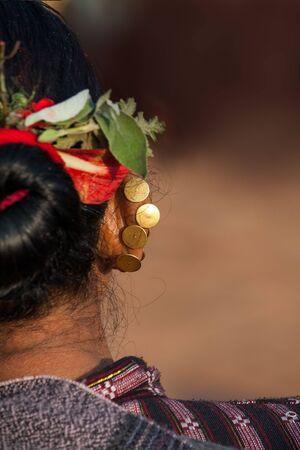 incubus: Traditional Newari piercing Save Download preview image Traditional Newari piercing in celebration of Nepali New Year. Stock Photo