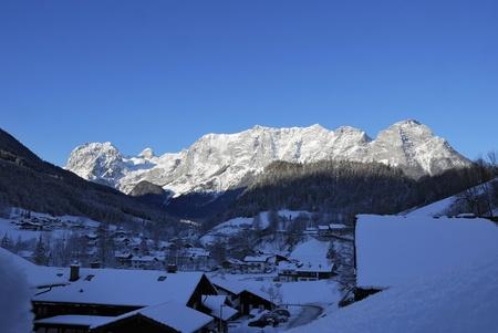 Scenic landscape of Reiteralpe mountain, Berchtesgadener Alpen, Ramsau, Germany photo