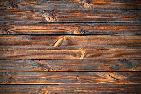 Very old and worn wooden planks.
