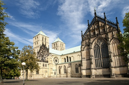 paulus: The famous cathedral St. Paulus in M�nster, Germany.
