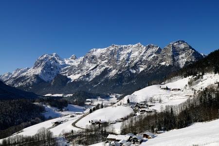 berchtesgaden: Scenic landscape of Reiteralpe mountain, Berchtesgadener Alpen, Ramsau, Germany