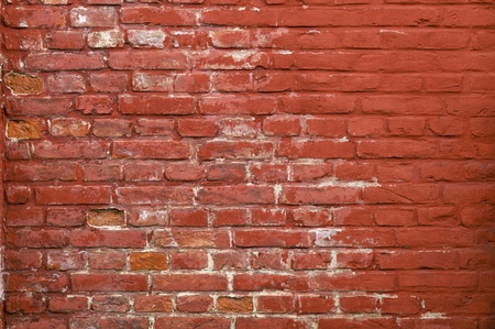 smut: Stone texture - Rustic and worn bricks painted with a red color